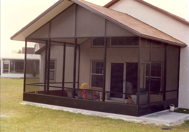 Build a screen enclosure dulando screen awning for Building a screen room