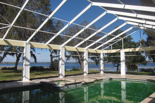 Daytona Beach Pool Screen Enclosure