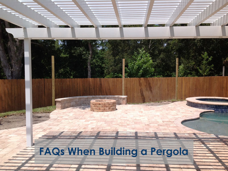 FAQs When Building a Pergola