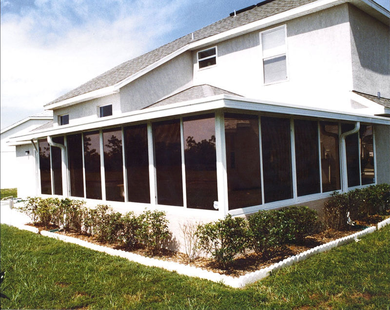 Turning a Patio into a Sunroom or Florida Room