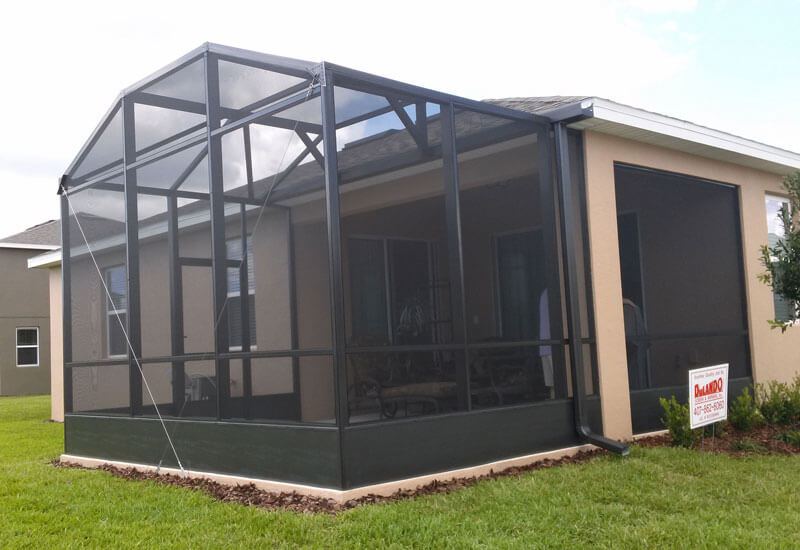 Gallery Building A Screen Enclosure For Your Pool Today X27 S Homeowner