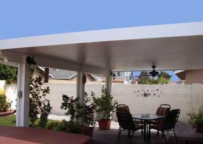 aluminum patio awnings