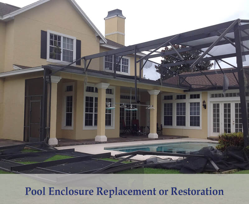 Pool Enclosure Replacement or Restoration