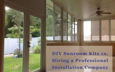 Sunroom Kits vs Hiring a Professional Installation Company