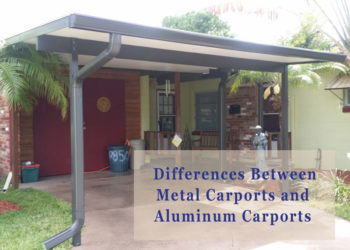 The Differences Between Metal Carports and Aluminum Carports