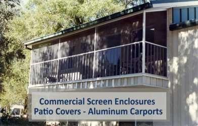 Commercial Patio Covers – Patio Enclosures – Aluminum Carports