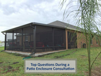 Top Questions During a Patio Enclosure Consultation
