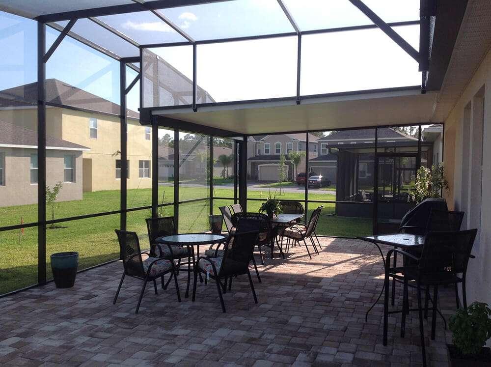 Patio Screen Enclosures - Porches and Lanais on Patio Enclosure Ideas  id=89708
