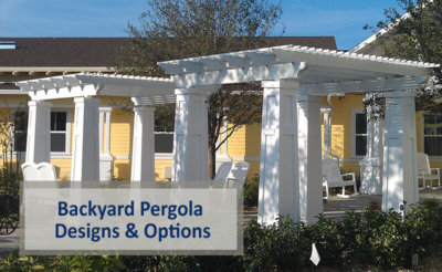 Backyard Pergola Designs & Options