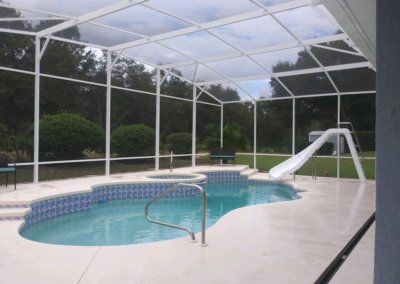 Pool enclosure longwood