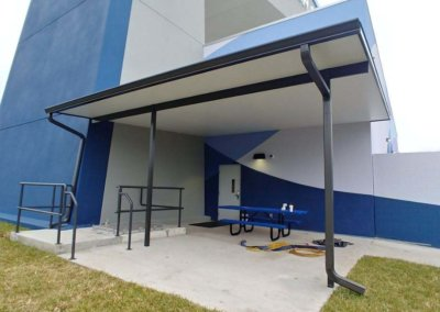 Commercial Awning iFLy Indoor Skydiving Awning