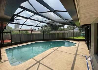 custom shape pool enclosure3