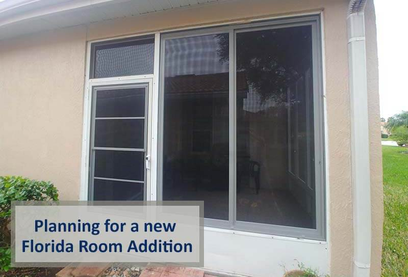 How to Plan for a New Florida Room Addition